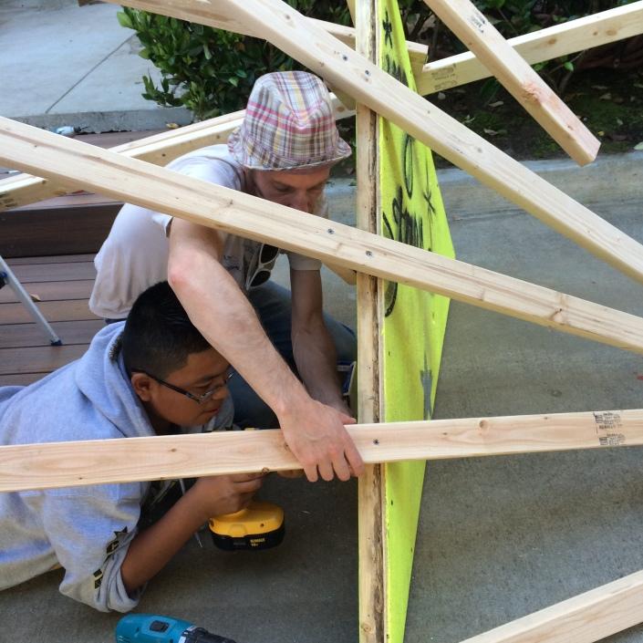 Persia Triangle Installation design/build, 2013