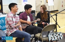 YAX photo students show off their musical skills