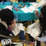 YAX youth fashion designers sharing their sewing skills