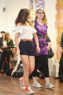 YAX Fashion Students at Root Division