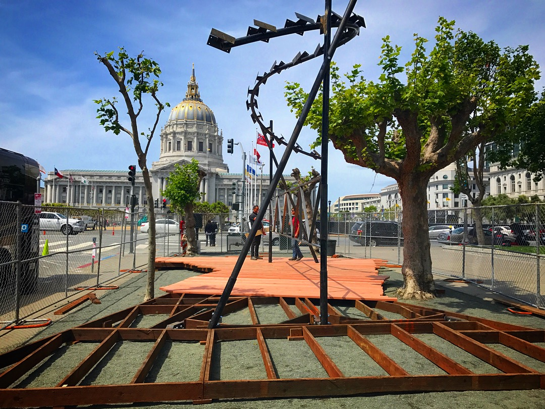 Construction Has Started On San Franciscou0027s Next Living Innovation Zone U2013  Designed By Youth Art Exchangeu0027s Young Architects, In Collaboration With  The San ...