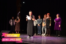 Queer Ancestors Project on stage