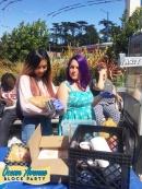 concessions at Ocean Avenue Block Party