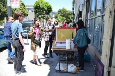Screenprinting at New Growth: Vibrant Voices